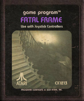 Fatal Frame Atari Cartridge Icon