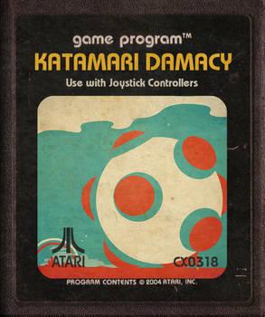 Katamari Damacy Atari Cartridge Icon