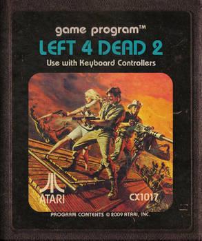Left 4 Dead 2 Atari Cartridge Icon