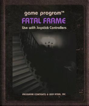 Fatal Frame Atari Cartridge Icon V.2