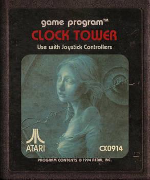 Clock Tower Atari Cartridge Icon