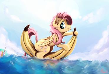 Banana Boat by Miokomata