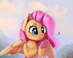 Fluttershy paint