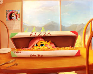 Pizzashy by Miokomata
