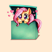 Flutters in a box by Miokomata