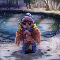 Snowing by Miokomata