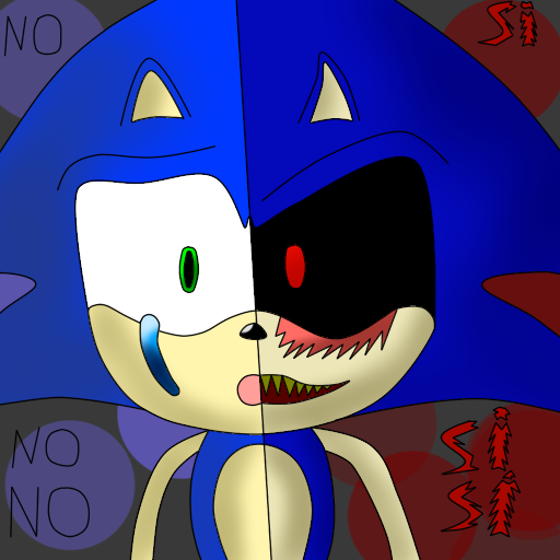 Sonic Y Sonic.EXE By Rollflasher On DeviantArt