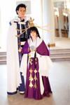 Kurogane and Tomoyo - Tsubasa cosplay 1