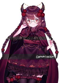 commission : ninthform [SPEEDPAINT]