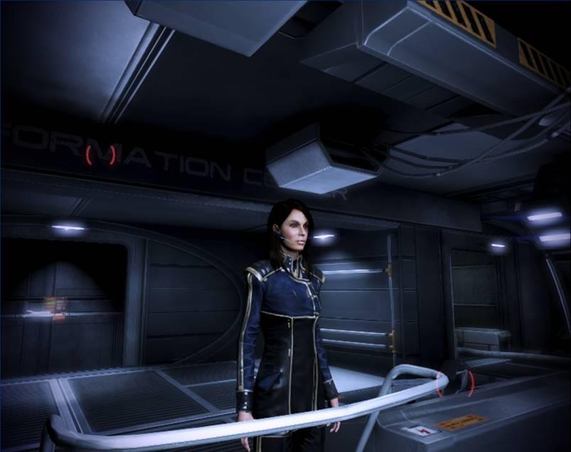 Commander Ashley Shepard By Saito404 On Deviantart