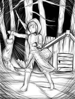 Little Witch in the Darck Forest