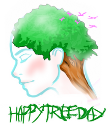 Happy Tree Day by descaiger