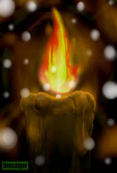 Black Candle by descaiger