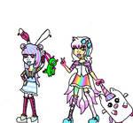 Namine and Sakura trip to Scaris W.i.P