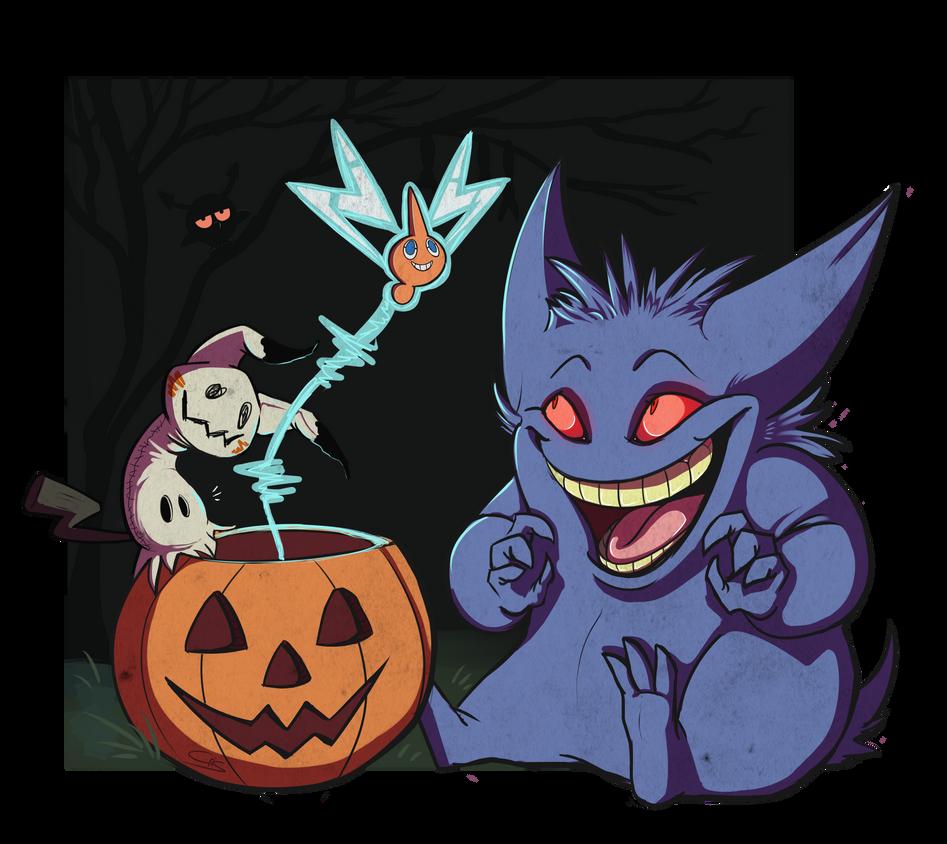 Spooky Pals by CrisAlvarino