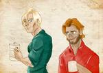 Modern Brienne x Jaime