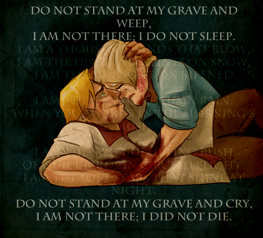 do not stand by my grave Buy do not stand at my grave and weep (inspirational) (inspirational) by paul  saunders (isbn: 9780285633353) from amazon's book store everyday low.