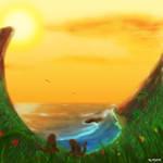 Retarded Monkey Bay painting