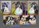 Ghost bride Morgana sculpture