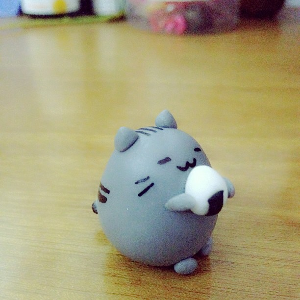 Handmade Cat Polymer Clay Kawaii Pusheen Charm Pusheen Polymer Clay Kitten Polymer Clay Pusheen Charm