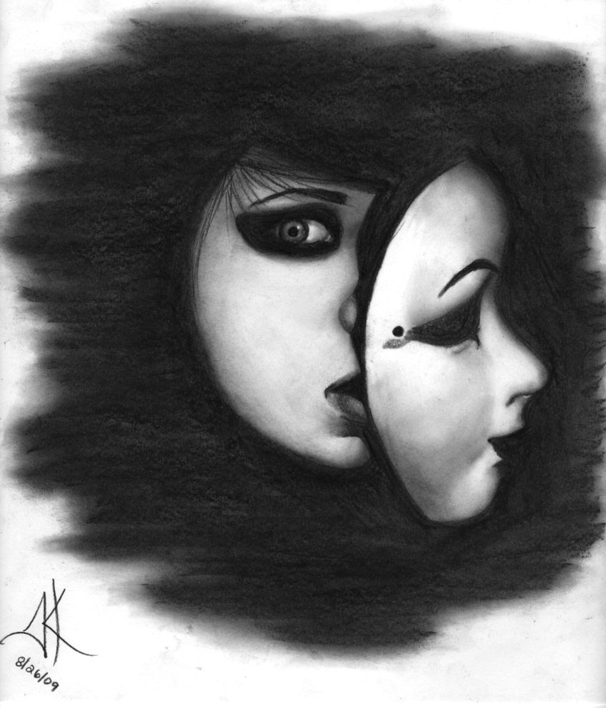 Masked Insecurities By Myxsummerxrain On Deviantart