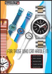 swatch magazine ad by razz79