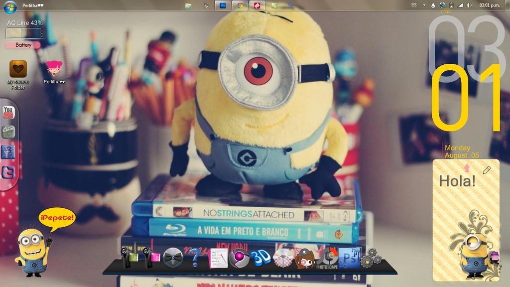 Minion Screenshot  [Mi escritorio] by KissOfPrincess