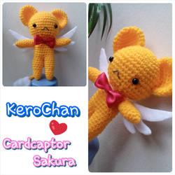 Amigurumi - KeroChan (Cardcaptor Sakura) by TeaTlme