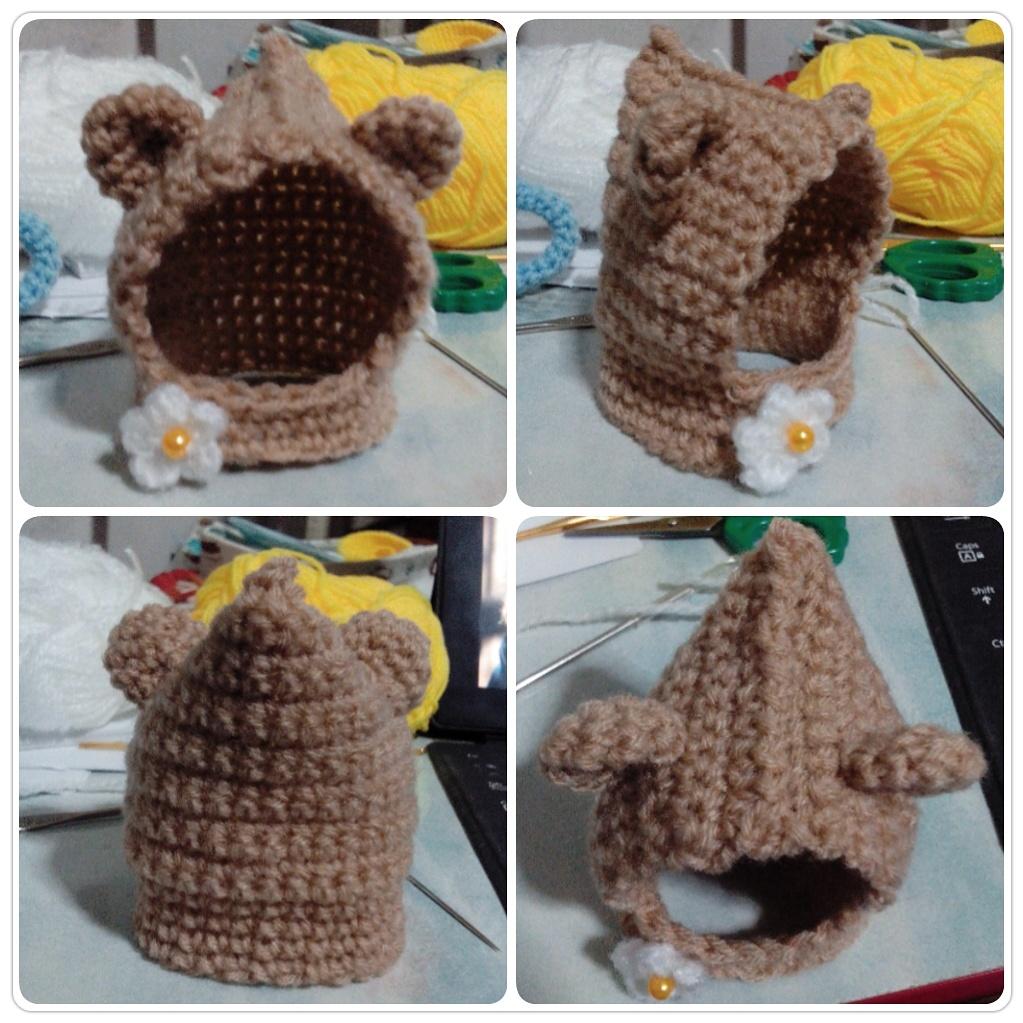 amigurumi - Crochet Hooded Cowl (Nendoroid hat) by TeaTlme ...