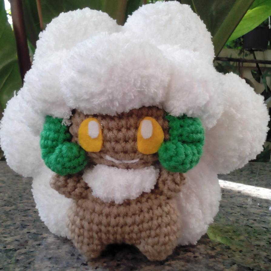 Amigurumi Sad Pokemon : Amigurumi - Whimsicott (Pokemon) by TeaTlme on DeviantArt