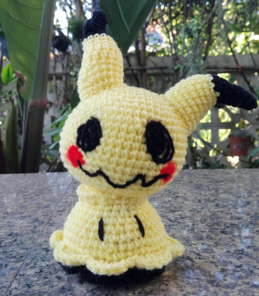 Amigurumi - Mimikyu (Pokemon) by TeaTlme