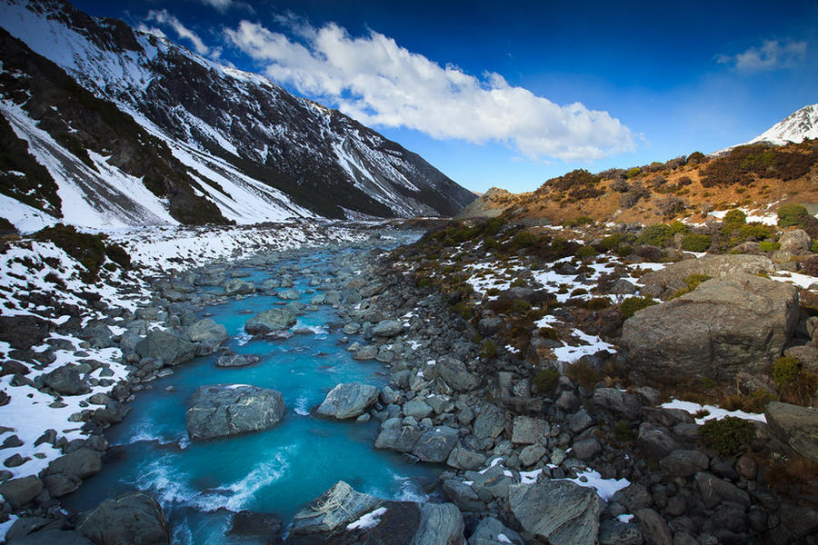 Hooker Valley by jonpacker