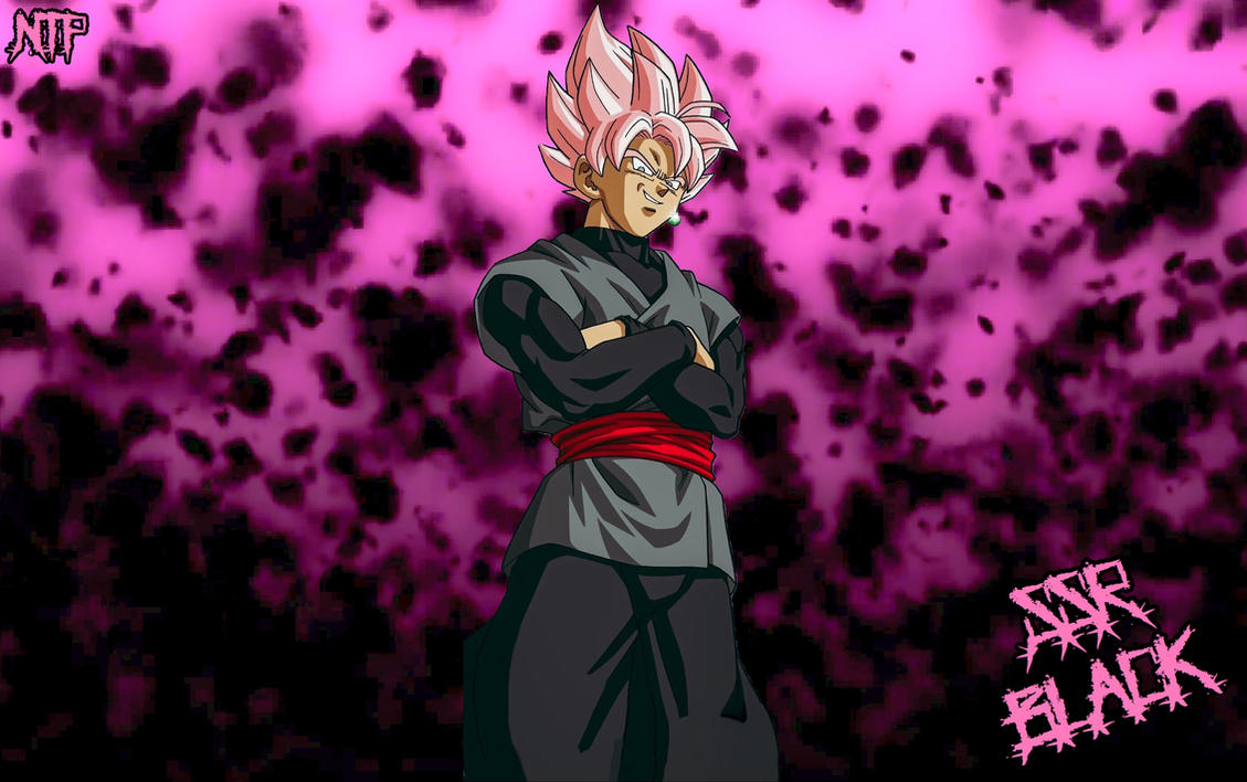 Super Saiyan Rose Goku Black Wallpaper: Super Saiyan Rose Black Goku Wallpaper By NickirixXT On
