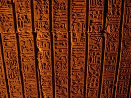 hieroglyics by Yavanna-stock