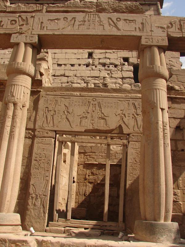 egyptian temple3 by Yavanna-stock