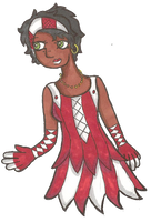 Carnivalle in a pretty dress by Furresoto