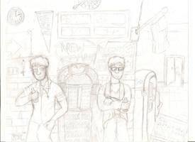 Mr Jones and me, we're gonna be big stars(sketch) by Furresoto