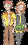 Fern Acehatch and Shrapnel Wilkins by Furresoto