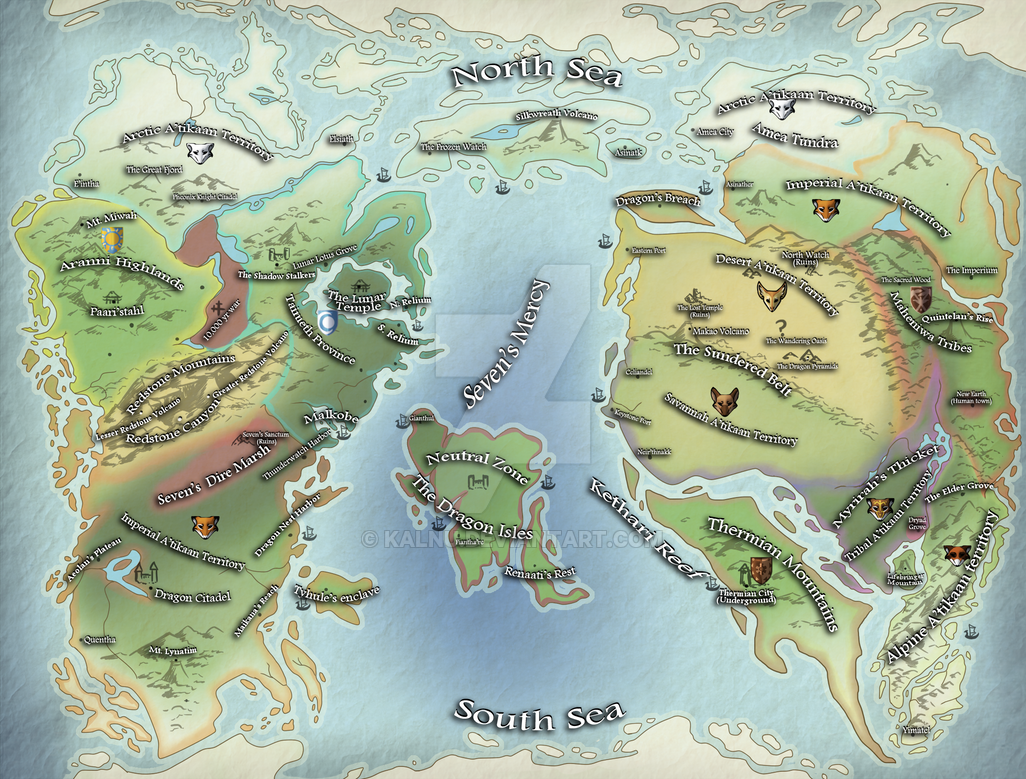 Pre Ice Age World Map.Ice Age World Map By Kalnu On Deviantart