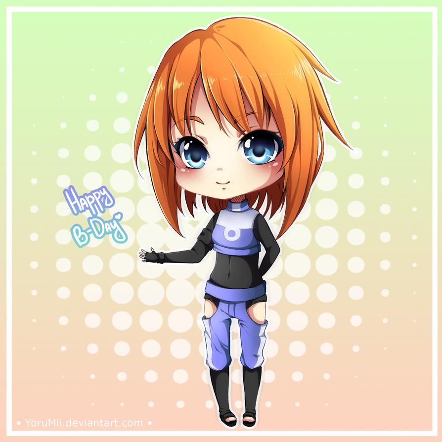 :B-Day gift  for Blazy-chan: by YoruMii