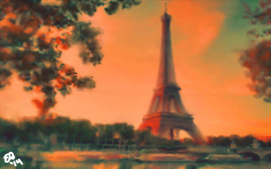 Dreaming in Paris by WillRepent