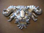 silver monster face cast