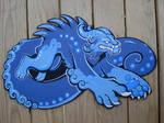 blue foo commission by missmonster