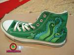 tentacle shoe custom two