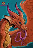 dragon card 1 by missmonster