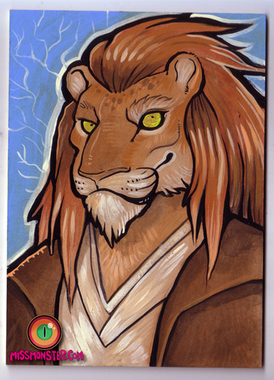 Jedi lion by missmonster