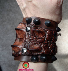 Little dragon cuff by missmonster