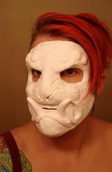 Demon mask plastic copy by missmonster