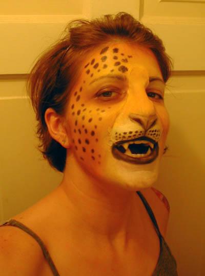 leopard costume test by missmonster