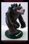 Werewolf toy side